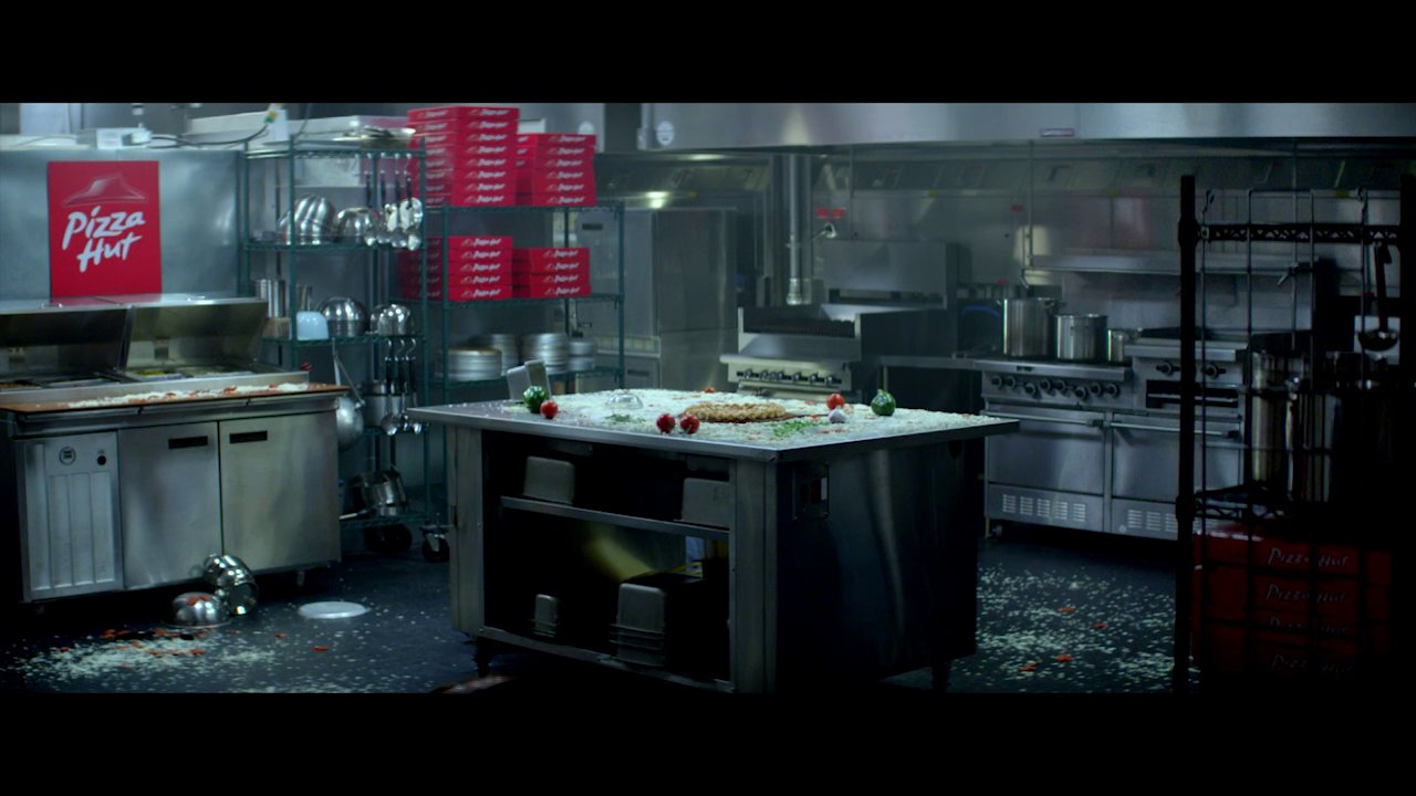 "Pizza Hut Kitchen zoic studios: visual & special effects for pizza hut ""sneaky turtles"""
